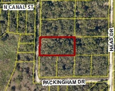 Webster Residential Lots & Land For Sale: 7388 Packingham Drive