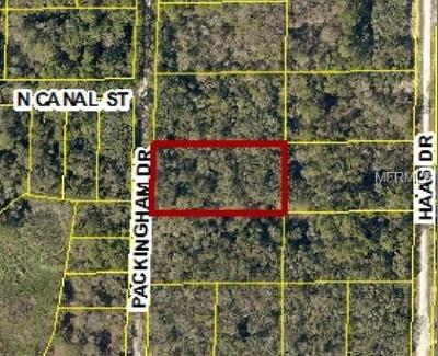Webster Residential Lots & Land For Sale: 7392 Packingham Drive