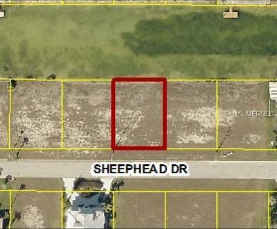 Hernando Beach Residential Lots & Land For Sale: 3511 Sheephead Drive