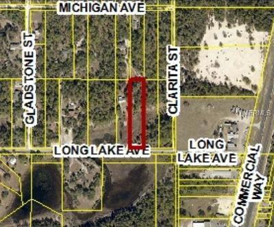 Weeki Wachee Residential Lots & Land For Sale: 9285 Long Lake Avenue