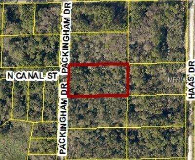 Webster Residential Lots & Land For Sale: 7398 Packingham Drive