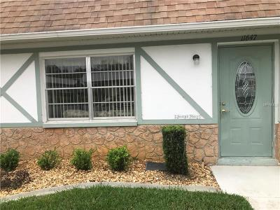 New Port Richey Condo For Sale: 11647 Bayonet Lane #138B