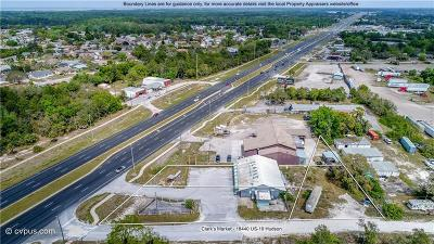 Pasco County Commercial For Sale: 18440 Us Highway 19