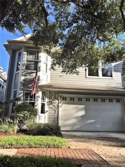 Tampa Townhouse For Sale: 2827 Bayshore Trails Drive