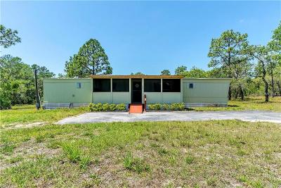 Spring Hill Mobile/Manufactured For Sale: 6181 Nodoc Road