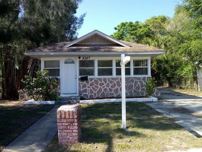 St Petersburg Single Family Home For Sale: 4347 17th Avenue S