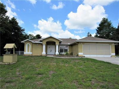 Weeki Wachee Single Family Home For Sale: 7113 Owl Road