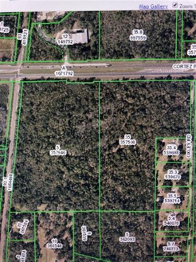 Brooksville Residential Lots & Land For Sale: Cortez Boulevard