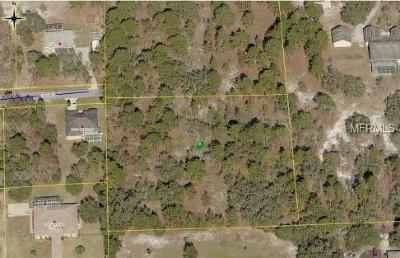 Weeki Wachee Residential Lots & Land For Sale: 10480 Golden Avenue