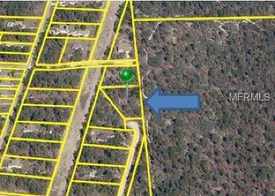 Weeki Wachee Residential Lots & Land For Sale: 7465 Mandrake Road