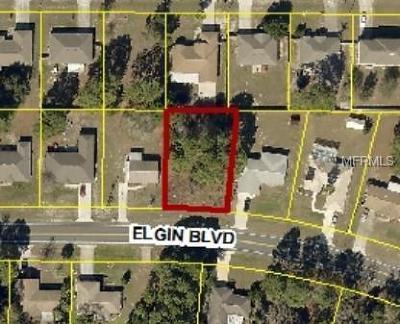 Spring Hill Residential Lots & Land For Sale: 00 Elgin Boulevard