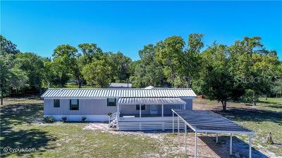 Hernando County, Hillsborough County, Pasco County, Pinellas County, Marion County Mobile/Manufactured For Sale: 15206 Dilbeck Drive