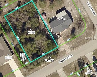 Spring Hill Residential Lots & Land For Sale: Freeport Drive