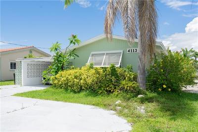 New Port Richey, New Port Richie Single Family Home For Sale: 4113 Floramar Terrace