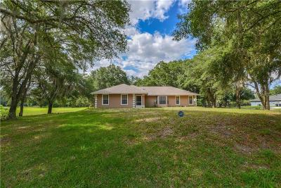 Crystal River Single Family Home For Sale: 8915 W Sula Lane