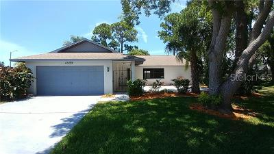 New Port Richey Single Family Home For Sale: 4555 Mitcher Road