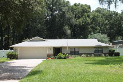 Ocala Single Family Home For Sale: 10645 SW 69th Terrace