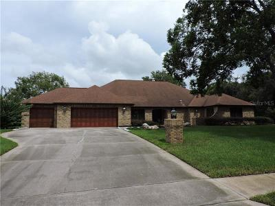 Weeki Wachee Single Family Home For Sale: 4508 Lake In The Woods Drive