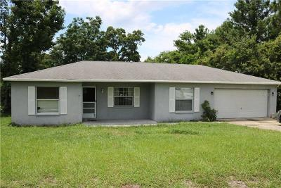 Spring Hill FL Single Family Home For Sale: $149,995