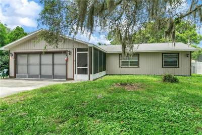 Spring Hill, Springhill Single Family Home For Sale: 12176 Katherwood Street