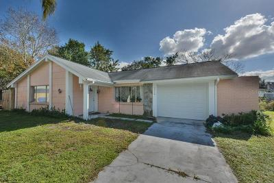Holiday Single Family Home For Sale: 3316 Overland Drive