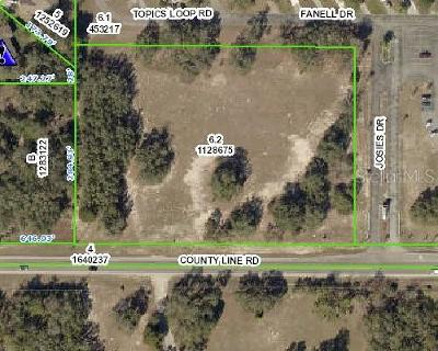 Spring Hill Residential Lots & Land For Sale: County Line Road