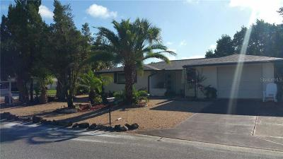 Port Richey Single Family Home For Sale: 10704 Oleander Drive