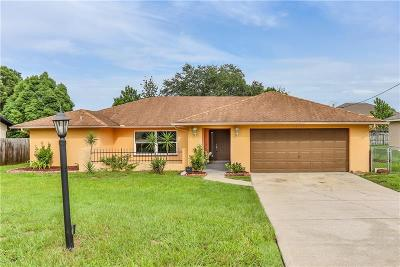 Spring Hill Single Family Home For Sale: 4157 Oasis Avenue