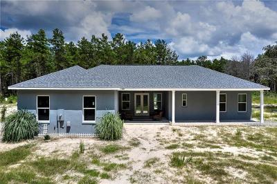Spring Hill Single Family Home For Sale: 17701 Bowman Road