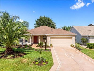 The Villages Single Family Home For Sale: 9125 SE 170th Fontaine Street