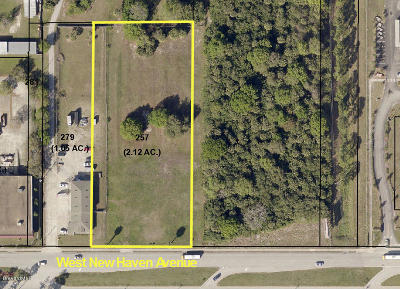 Brevard County Residential Lots & Land For Sale: W New Haven