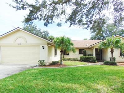 Brevard County Single Family Home For Sale: 1185 Mayflower Avenue