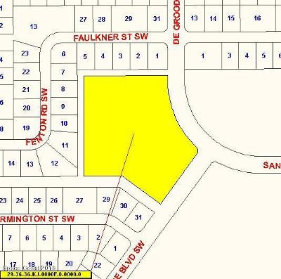 Residential Lots & Land For Sale: 2960 Degroodt SW