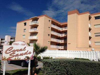 Cocoa Beach Condo For Sale: 1525 S Atlantic Avenue #305