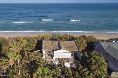 Melbourne Beach Single Family Home For Sale: 7075 S Highway A1a