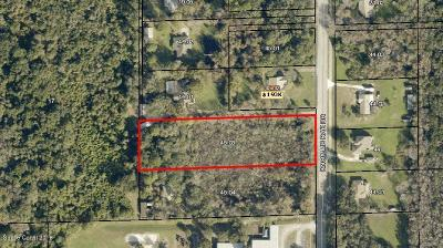 Titusville Residential Lots & Land For Sale: 3105 Knox Mc Rae Drive