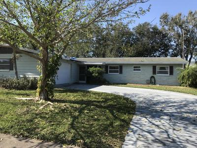 Merritt Island Single Family Home For Sale: 1465 Venus Street