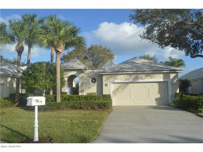 Vero Beach Single Family Home For Sale