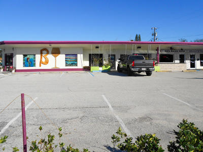 Cape Canaveral Commercial For Sale: 7090 N Atlantic Avenue #3