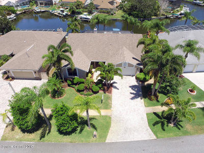 Merritt Island Single Family Home For Sale: 2130 Sykes Creek Drive