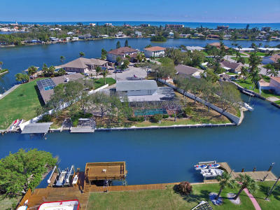 Cocoa Beach Single Family Home For Sale: 1790 Bayshore Drive