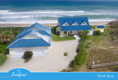 Single Family Home For Sale: 7205 Highway A1a