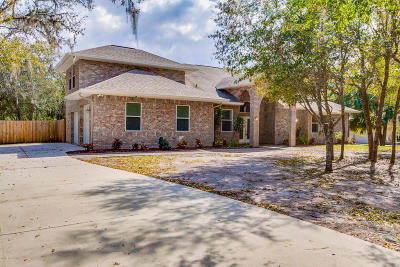 Titusville Single Family Home Contingent: 3441 Owls Wood Way