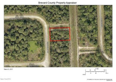 Brevard County Residential Lots & Land For Sale: 1117 Hanover Avenue SW