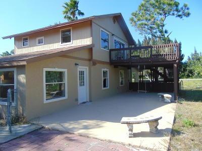 Micco Single Family Home Contingent: 9098 Central Avenue