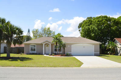 Vero Beach Single Family Home For Sale: 735 19th Street SW