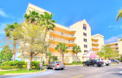 Cape Canaveral Condo For Sale: 7108 Marbella Court #402