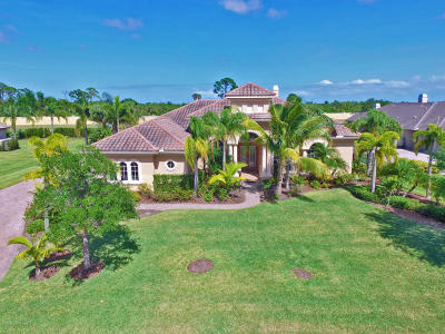 Rockledge Single Family Home For Sale: 3042 Bellwind Circle