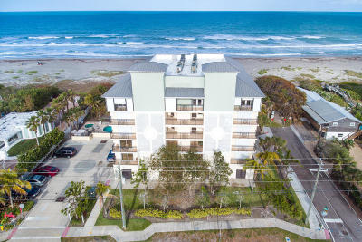 Cocoa Beach Condo For Sale: 2375 S Atlantic Avenue #301