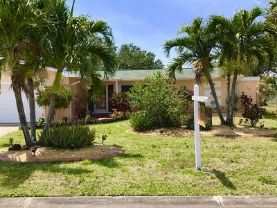 Cocoa Beach Single Family Home For Sale: 118 Surf Drive